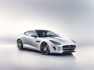 La nuova Jaguar F-Type coupè