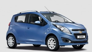 La Chevrolet Spark Bubble edition