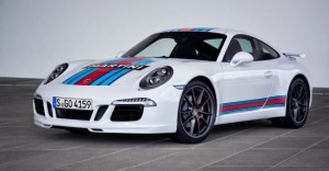 La Porsche 911 Carrera S Martini Racing