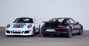 La Porsche 911 Carrera S Martini Racing Edition