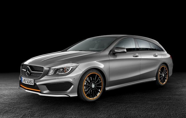 La Mercedes CLA Shooting Brake