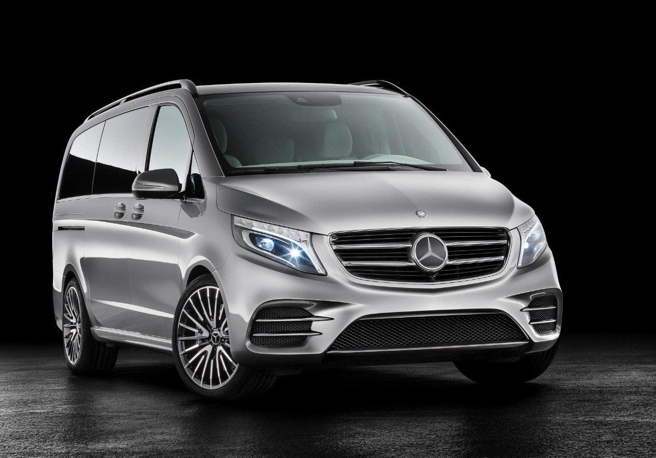 La nuova Mercedes V-ision