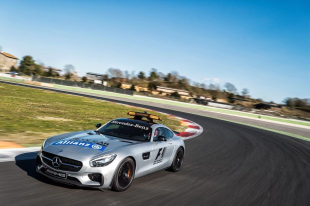 La Mercedes-AMG GT Safety Car